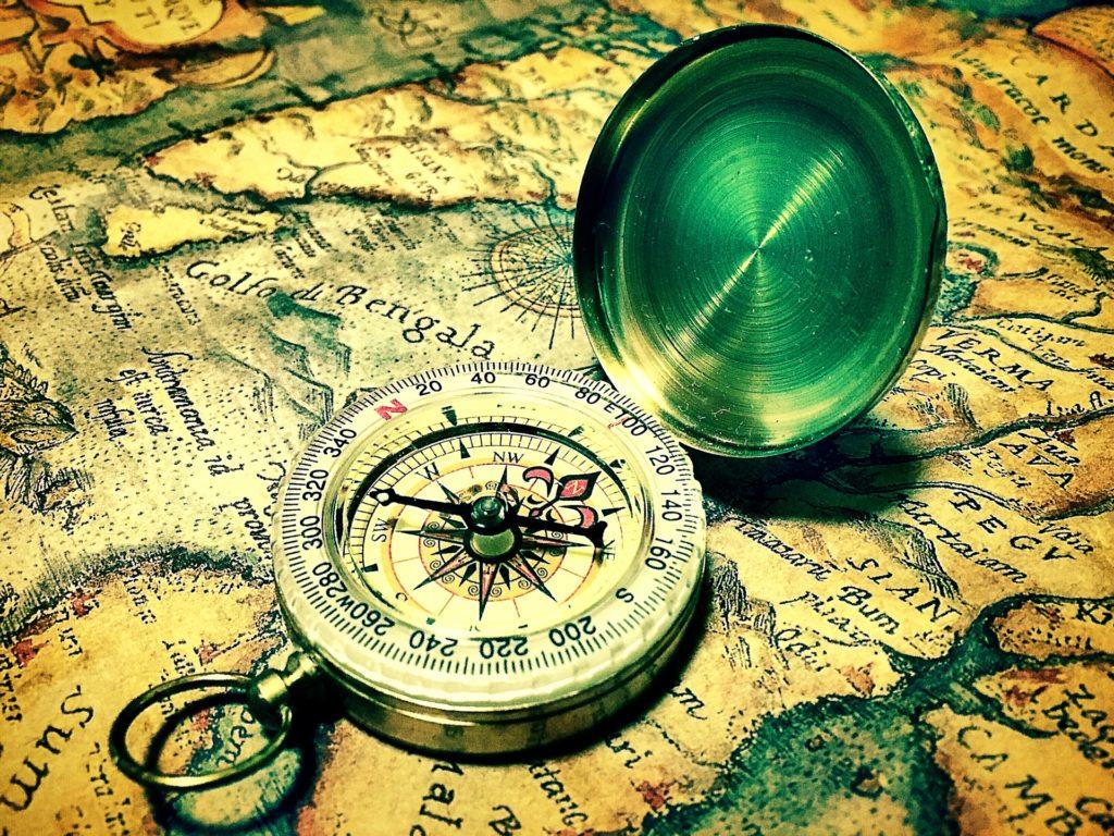 目的を決めるのは羅針盤と一緒のイメージ